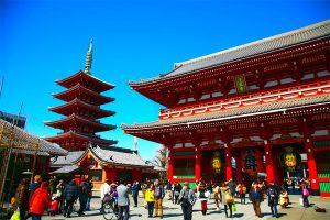 Du lịch Nhật Bản: Tokyo – Hitachi – Hakone – Fuji – Narita 5N4Đ