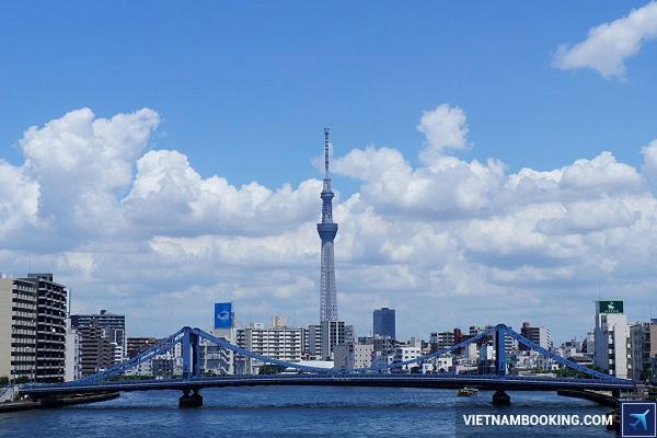 đặt tour du lịch nhật hàn osaka tokyo seoul 7n6đ