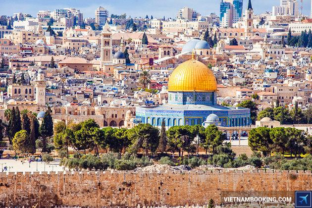 tour du lịch trung đông israel jerusalem 8n7d