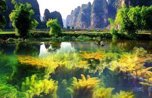 """Cận cảnh vẻ đẹp Đầm Vân Long – làng Iwi của """"Kong: Skull Island"""""""