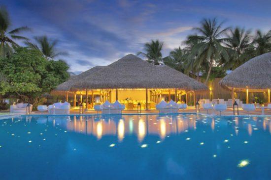 Resort cao cấp ở Maldives