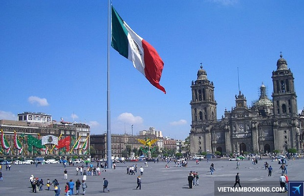 thu tuc xin visa di mexico