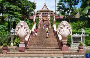 Tour du lịch Campuchia 2N1Đ: Hành hương về Phnom Penh