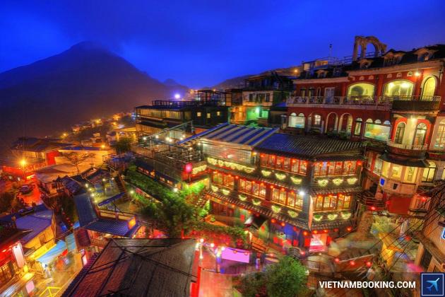 Du lịch Đài loan: Làng Cổ Thập Phần - Công Viên Dã Liễu
