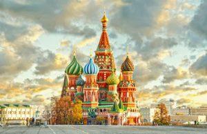 Du lịch Nga: Moscow – St Petersburg 9N8Đ (Hàng tháng)