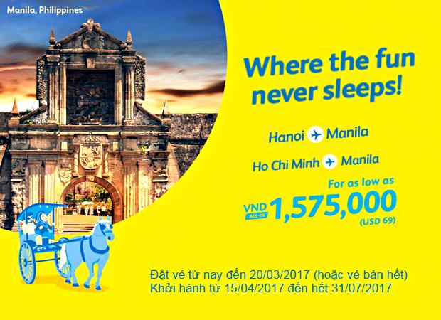 Cuối tuần, book vé Cebu chu du Manila chỉ từ 69 USD