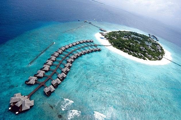 Ngắm biển Maldives