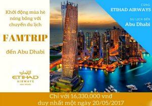 Du lịch hè Famtrip đến Abu Dhabi cùng Etihad Airways