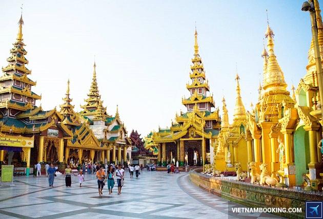 du lịch myanmar 5n4d