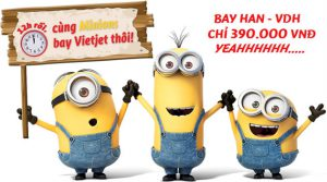 Vietjet Air mở đường bay mới Hà Nội – Đồng Hới