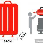 Tìm hiểu về hành lý xách tay của Jetstar Pacific