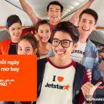 Tìm kiếm những giá vé máy bay Jetstar Pacific rẻ nhất