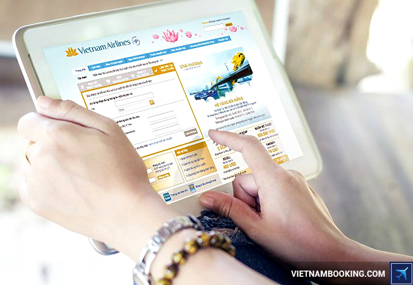 booking online vietnam airlines gia re