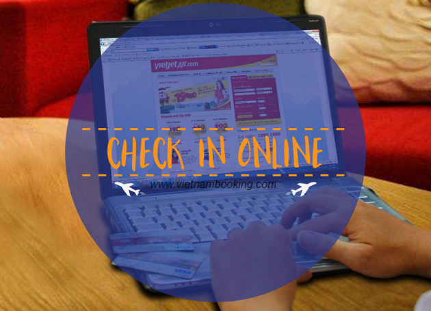 check-in online hang vietjet air