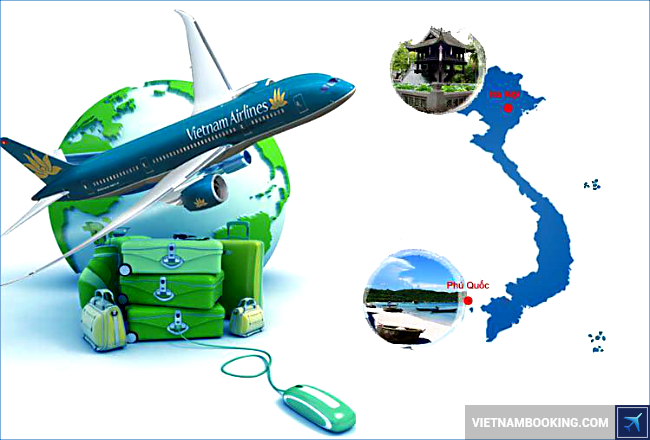 cach doi ve vietnam airlines