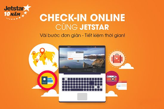 hướng dẫn check in online jetstar pacific