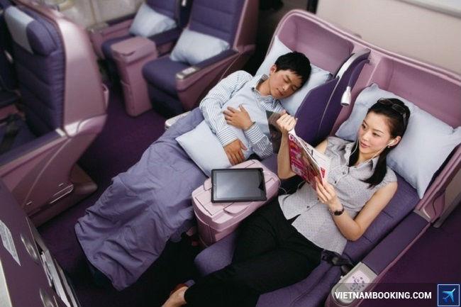 ve may bay china airlines di bac kinh