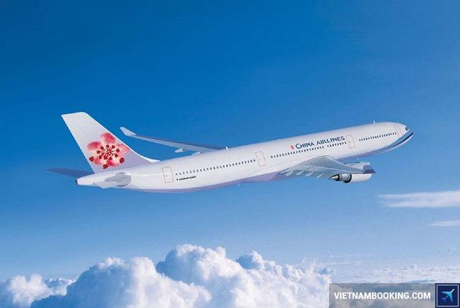 ve may bay di dai trung cua china airlines
