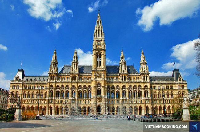 ve may bay china airlines di Vienna