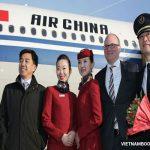 Đại lý vé máy bay Air China Việt Nam
