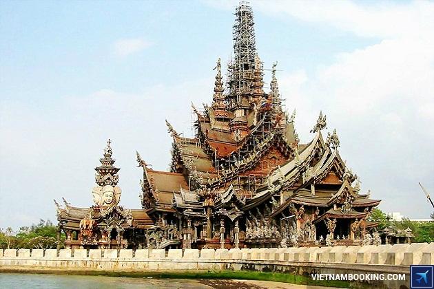 Địa điểm tham quan nổi tiếng ở Pattaya