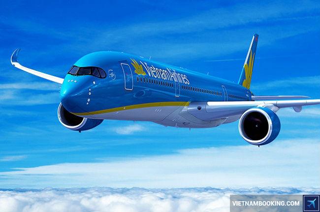 gia ve may bay vietnam airlines di nha trang