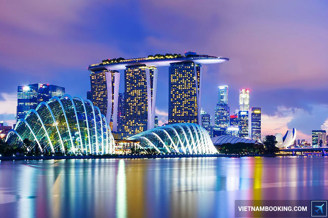 ve may bay di singapore của vietnam airlines