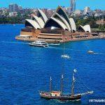 Giá vé máy bay Vietnam Airlines đi Úc rẻ