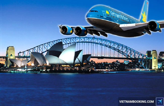 gia ve may bay di uc của vietnam airlines