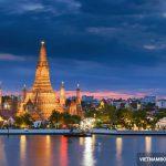 Giá vé máy bay điThái Lan rẻ của Vietnam Airlines