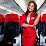 Hạng ghế và dịch vụ trên chuyến bay Air Asia