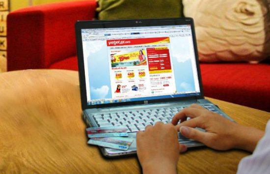 hướng dẫn cách mua thêm hành lý ký gửi Vietjet online