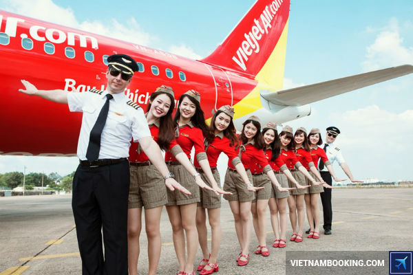 lam the nao de san ve may bay Vietjet Air gia re 1