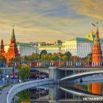 Lịch bay của Aeroflot hành trình từ Hà Nội đi Moscow