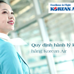 Những quy định về hành lý ký gửi Korean Air