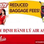 Tất tần tật những quy định về hành lý kí gửi của Air Asia