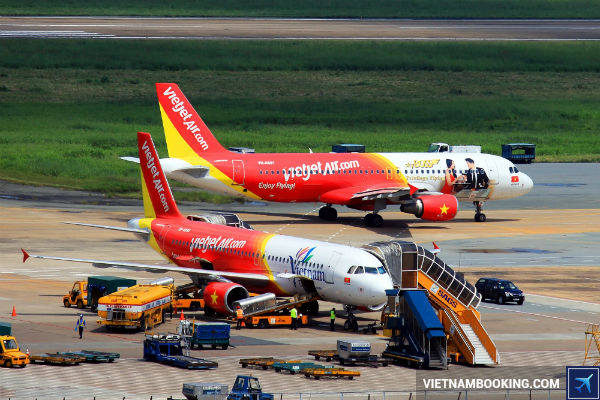 thong tin can biet khi mua ve may bay gai re Vietjet Air 2