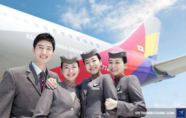 hang hang khong ve may bay Asiana Airlines,