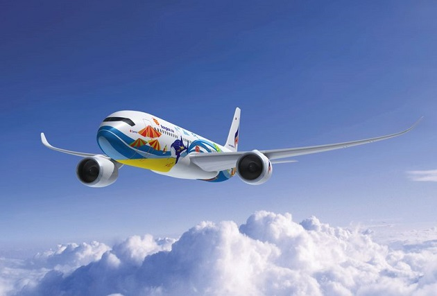 ve may bay gia re bangkok airways