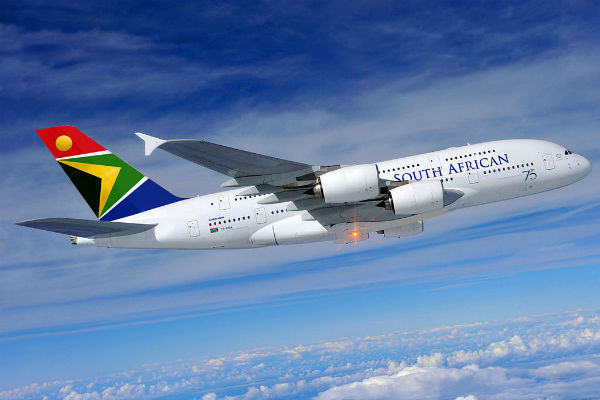 ve may bay South African Airways 1