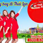 Vé máy bay đi Thái Lan giá rẻ Air Asia