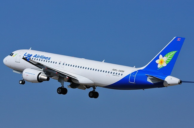 ve may bay lao airlines