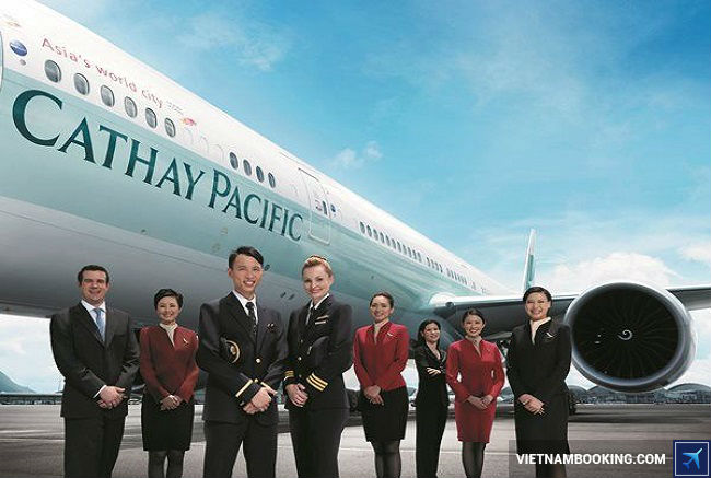 ve may bay cathay pacific