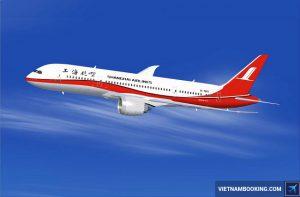 Vé máy bay Shanghai Airlines