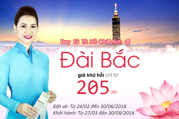 vé máy bay khuyến mãi vietnam airlines