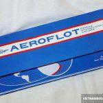Lưu ý khi đặt mua vé máy bay Aeroflot