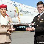 Đại lý của hãng Emirates Airlines, hỗ trợ số điện thoại tư vấn 24/7