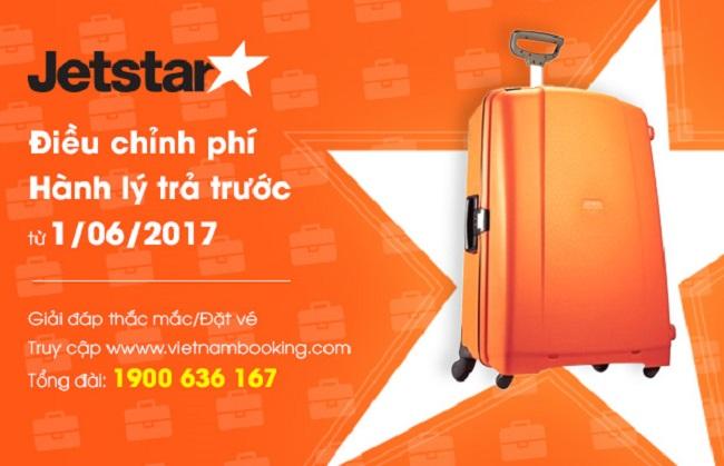 Jetstar thay doi phi hanh ly tra truoc