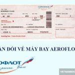 Thủ tục hoàn – đổi vé máy bay Aeroflot