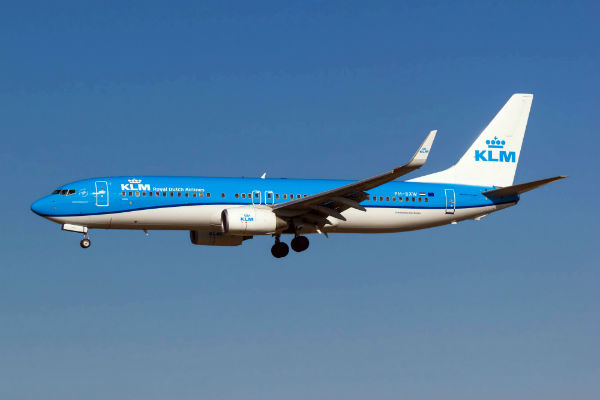 ve may bay klm airlines